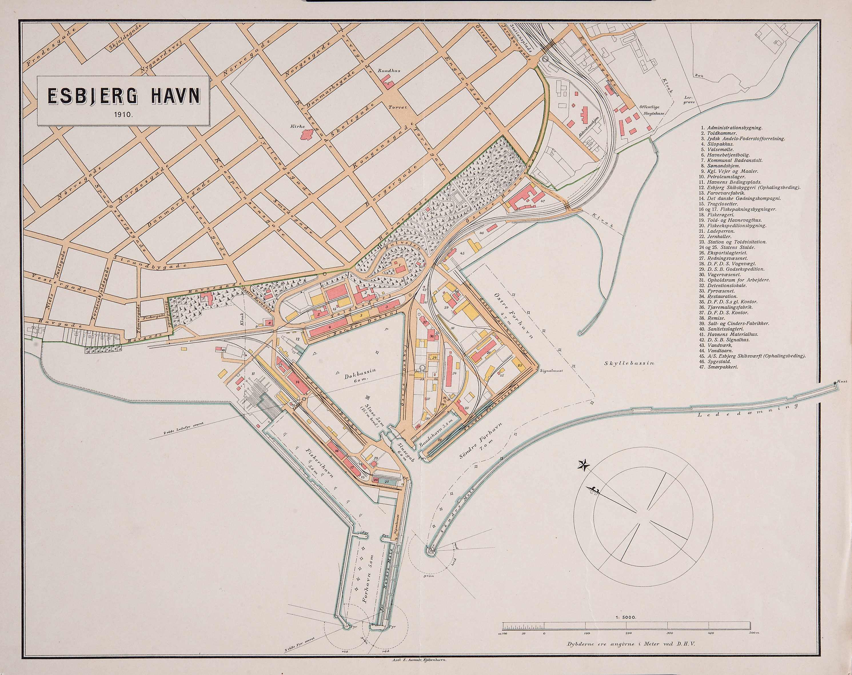 Bondebisseborger Dk 2 6 Kortserie Havnens Udvikling